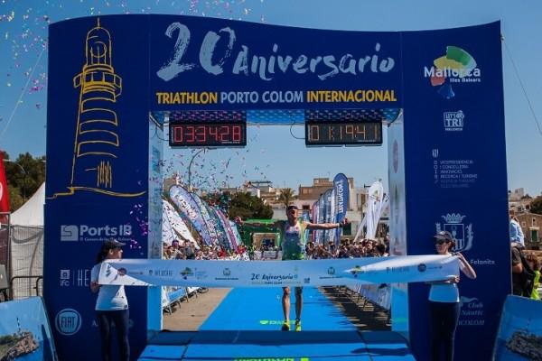 Michael Van Cleven ganandor Triathlon Portocolom