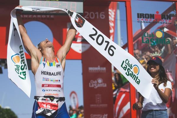 Tina Holst Ironman Lanzarote