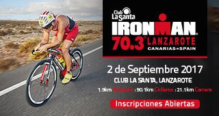 Ironman Lanzarote 70.3 2017