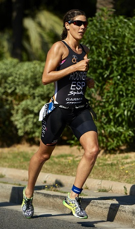 Carolina Routier en Garmin Triathlon