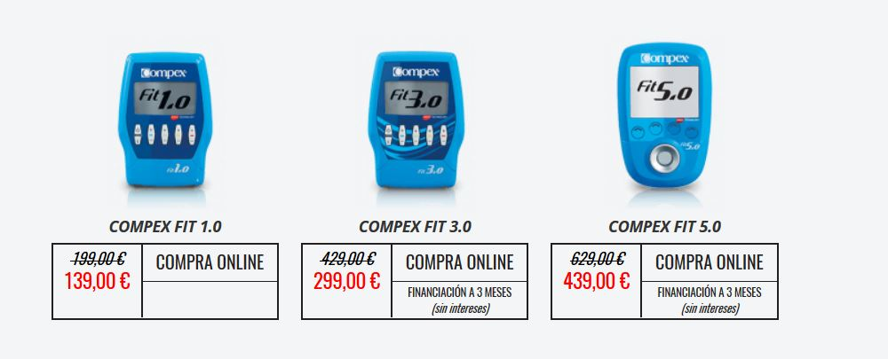 Black Friday COMPEX Gama Fitness