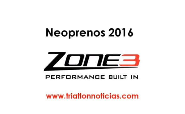 Neoprenos Zone3 2016