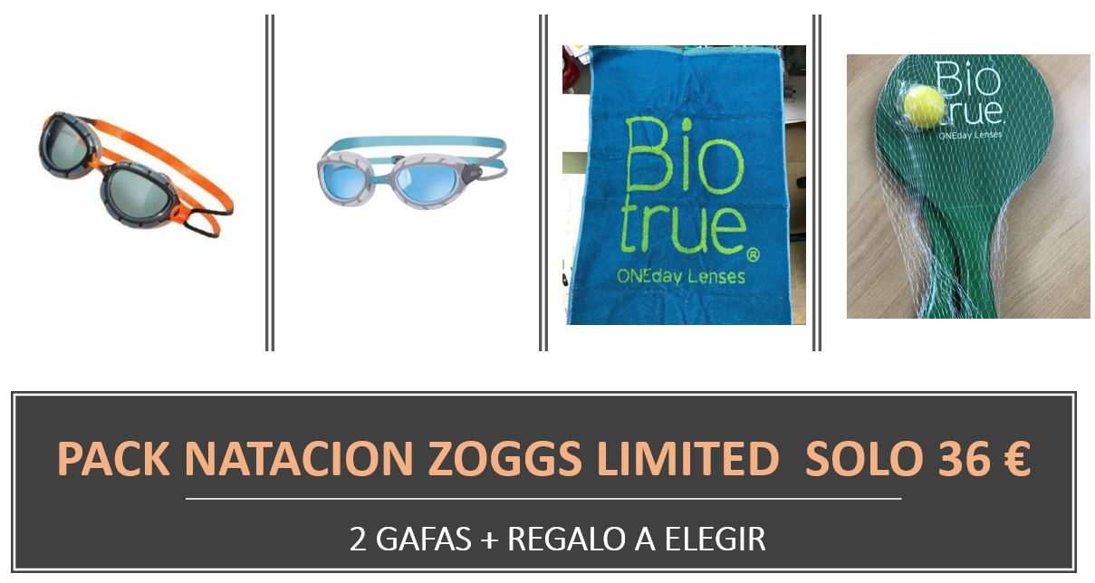 40076ecde7 Swimming Pack Zoggs Limited (2 glasses + gift) 36 €