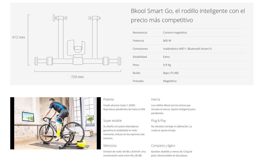 Bkool Smart Go  + Simulador