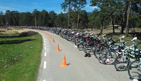 Boxes en el Duatlón Larga Distancia el Amogable