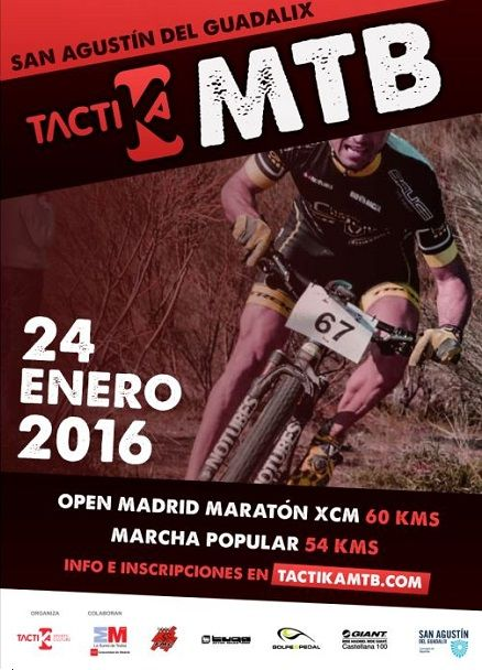 Cartel Tactika BTT 2016