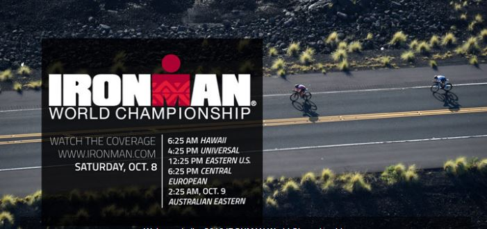 Como  Seguir Ironman Hawaii 2016