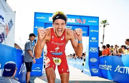 Jan Frodeno bate el récord del ironman 70.3 Calilfornia