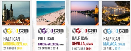 ICAN TRIATHLON SERIES 2014