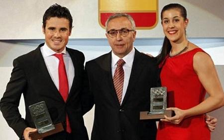 Javier Gomez Noya Mejor Deportista 2015