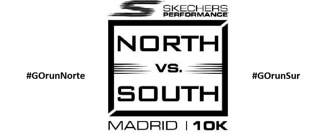 Logo Carrera Popular Skechers Norte Sur