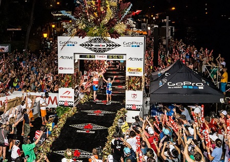 Records Ironman Kona Histora