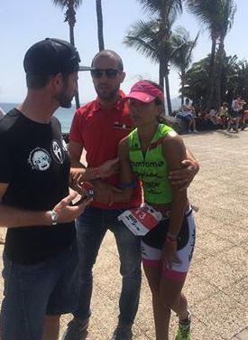 Saleta Castro Retidada Ironman Lanzarote 2016