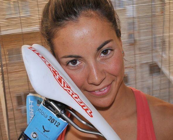 Saleta Castro con Sillin