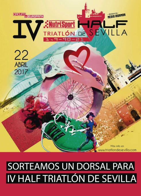 Cartel Half triatlon Sevilla