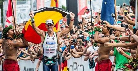 Frederick Van Lierder Campeón ironman 2013