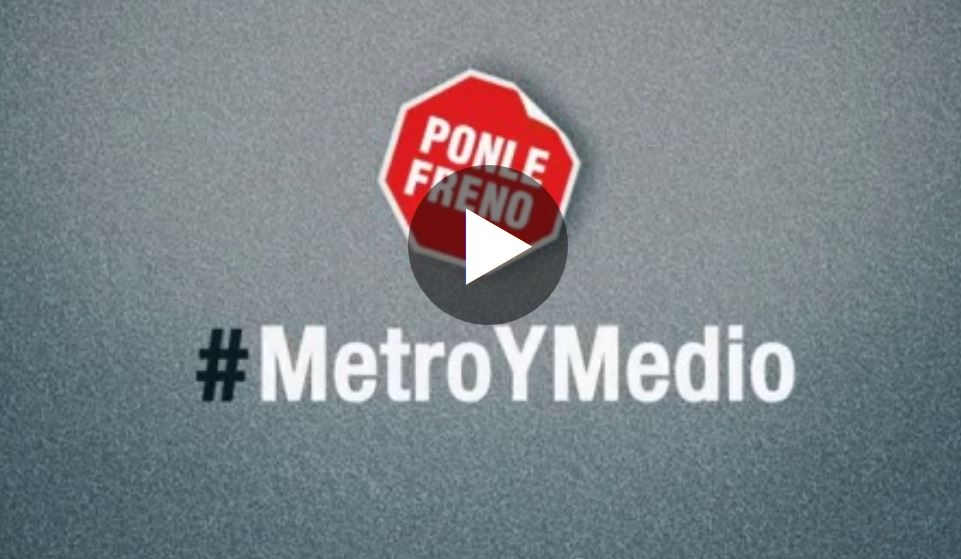 Video campaña metro y media atresmedia