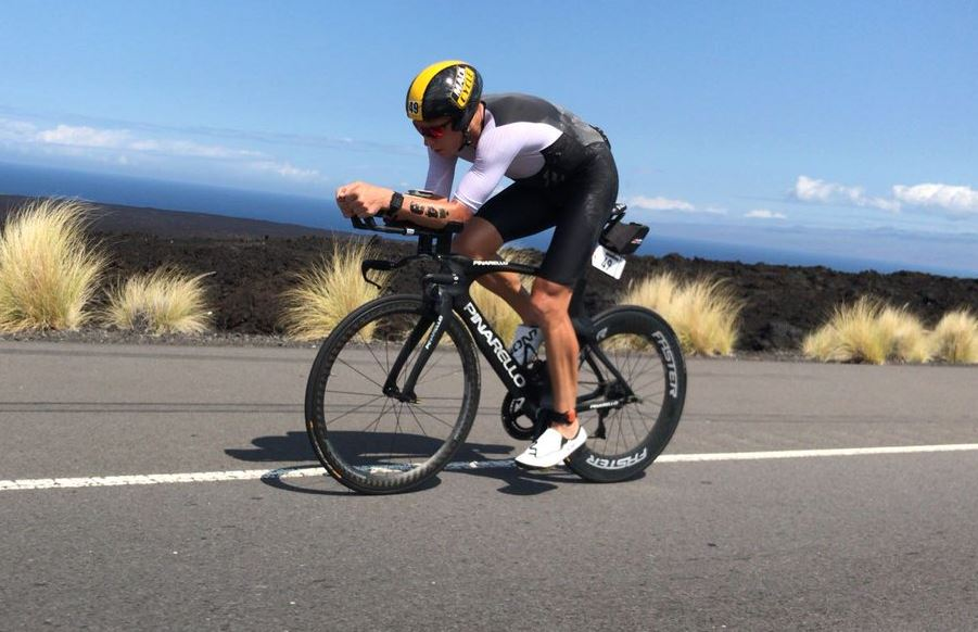 record Sector ciclista Ironman Hawaii