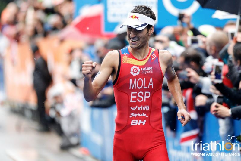 Mario Mola Campeon Mundo Triatlon 2017