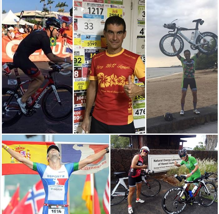 Mejores Españoles Ironman Kona