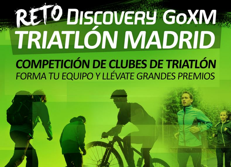 Reto Discovert Triatlon Madrid