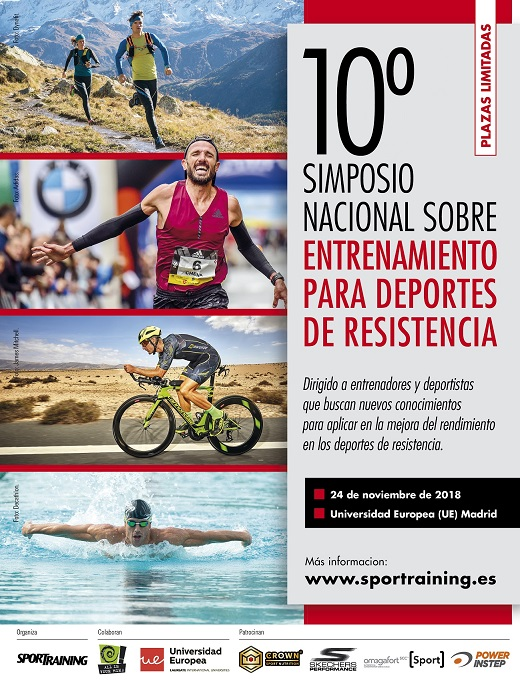 Cartel 10º Simposio Sport Training