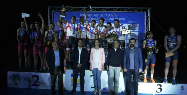 Fasttriathlon Campeon Copa Rey Triatlon 2018
