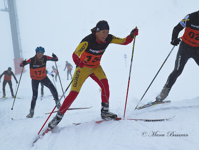 Mónica Sáez 10th in the Winter Triathlon World Championship