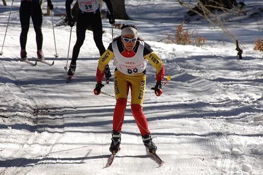 Two Spaniards at the Winter Triathlon World Championship