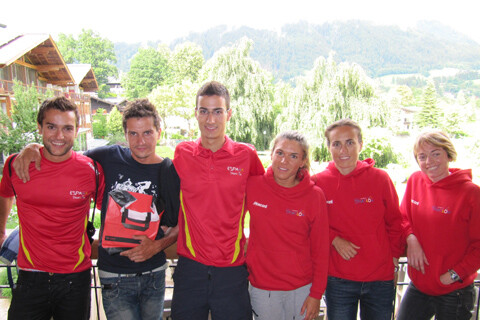 Series Mundiales Dextro-Energy de Kitzbühel WCS sin Gómez Noya