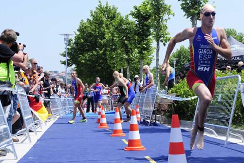 Spain seventh in elite relay