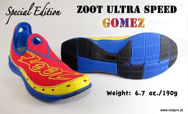 Zoot takes out sneakers inspired by Gómez Noya