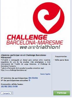 ¿Quieres participar en el Challenge Barcelona Maresme? Trimadrid sortea un dorsal