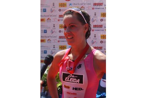 Eva Ledesma fifth in the European Long Distance