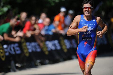 Gómez Noya second in the Sprint Triathlon World Championship