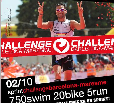 Challenge Barcelona erweitert seine Party am 2. Oktober um einen Sprint Triathlon