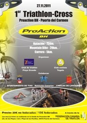 I Triathlon Cross ProAction BH in Lanzarote