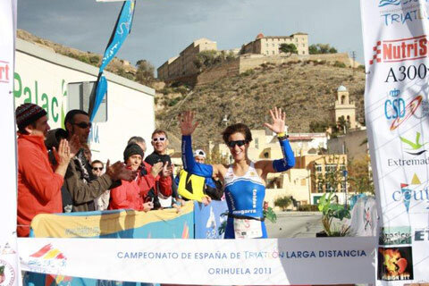 Raúl Amatriain and Gurutze Frades proclaim champions of Spain for long distance