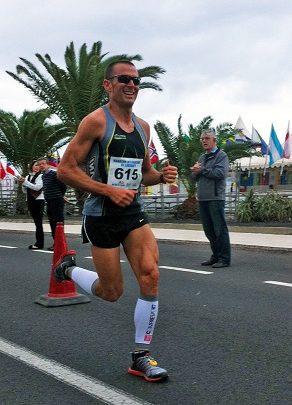 Victor del Corral erzählt von seinem zweiten Platz beim Internationalen Halbmarathon von Lanzarote.