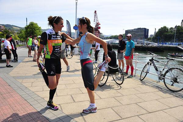 Virginia Berasategui confía en «iniciar una nueva etapa como triatleta»