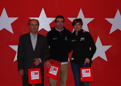 Des triathlètes de Madrid récompensés lors du gala sportif organisé par la Communauté de Madrid