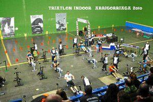 Arrigorriaga celebrates tomorrow the most virtual indoor triathlon