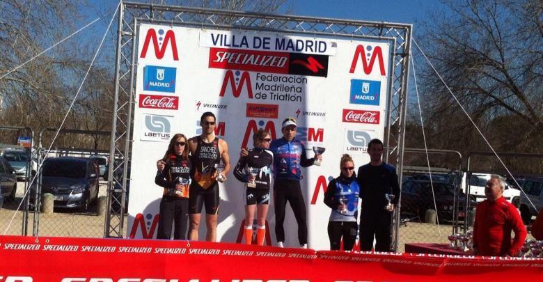 Jose Almagro and Marina Damlaimcourt win the Duathlon Villa de Madrid