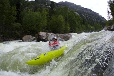 Photo of Trail running, mountain biking and whitewater kayaking, Red Bull Divide and Conquer 2012