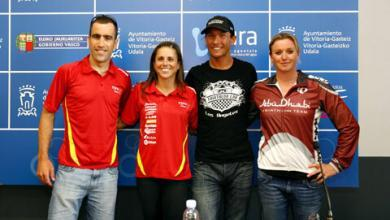 Photo of Today the long distance triathlon world championship is held in Vitoria