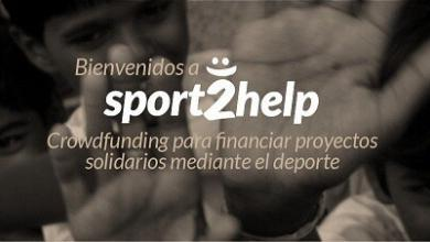 Photo of Sport2help is born a solidarity platform through sport