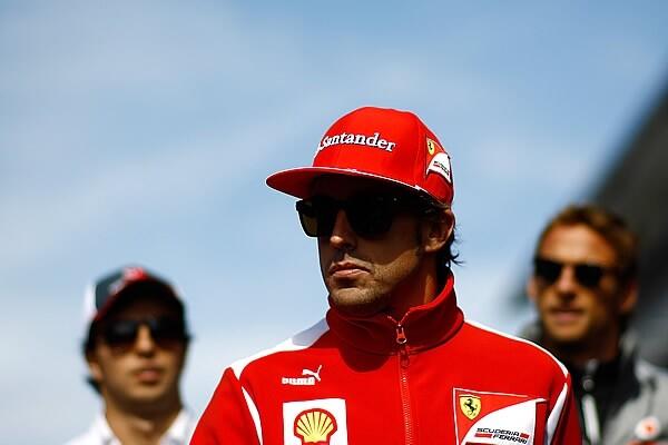 Photo of Fernando Alonso, now IRONMAN