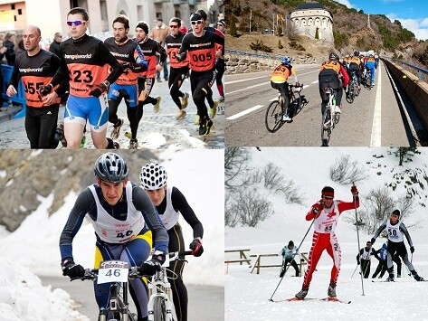 The Winter Triathlon will have its circuit in this 2013