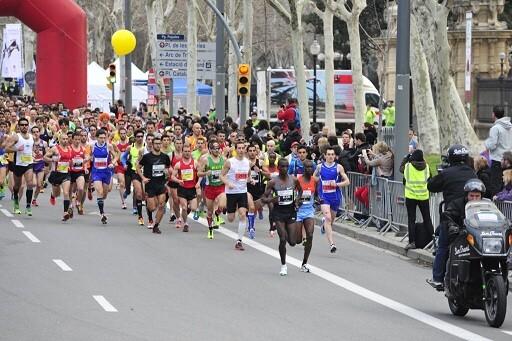 Roger Roca et Marcel Zamora Top 10 dans le semi-marathon de Barcelone