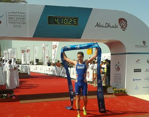 Photo of Alistair Brownlee wins the Abu Dhabi Short Triathlon